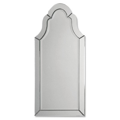 Hovan Frameless Arched Decorative Wall Mirror - Uttermost
