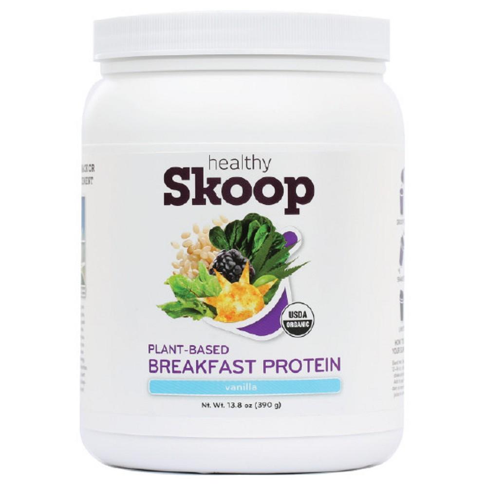 Healthy Skoop Organic Protein Powder - Vanilla - 13.8oz