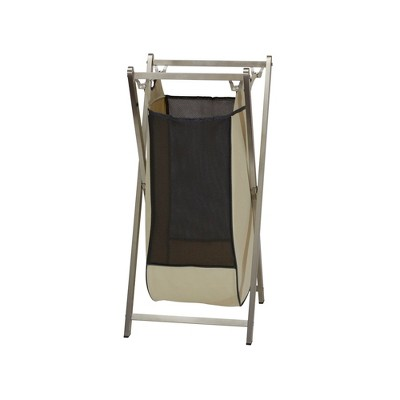 Household Essentials Single Stainless Industrial Laundry Hamper