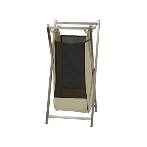 Household Essentials Single Stainless Industrial Laundry Hamper - image 1 of 2