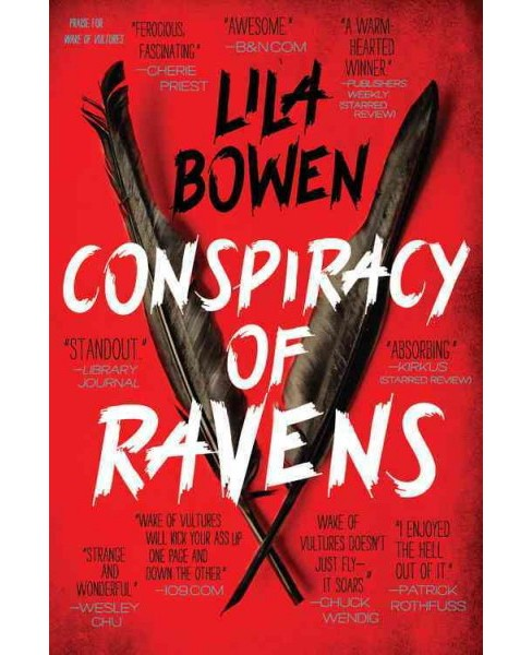 Conspiracy of Ravens -  Reprint (Shadow) by Lila Bowen (Paperback) - image 1 of 1