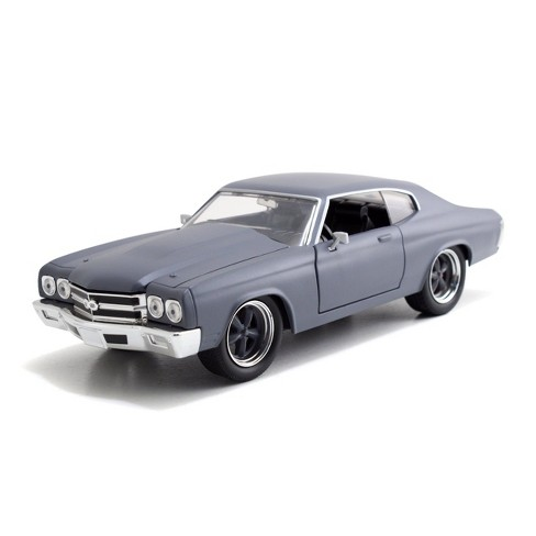 Jada Toys Fast & Furious 1970 Chevy Chevelle SS -  Die-Cast Vehicle - 1:24 Scale - Gray - image 1 of 4