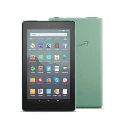 "Amazon Fire 7"" 16GB Tablet (9th Generation) - Sage"