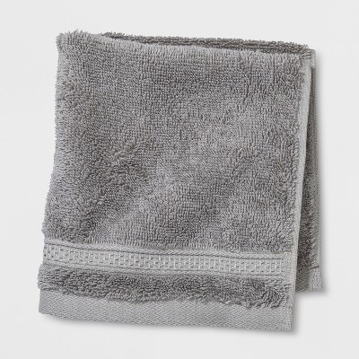 Soft Solid Washcloth Gray - Opalhouse™