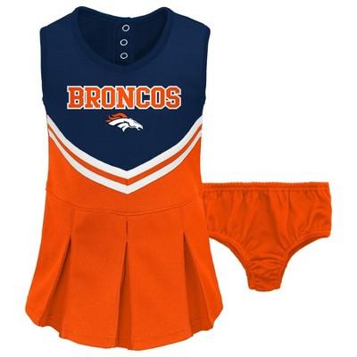 NFL Denver Broncos Toddler Girls' Cheer Set