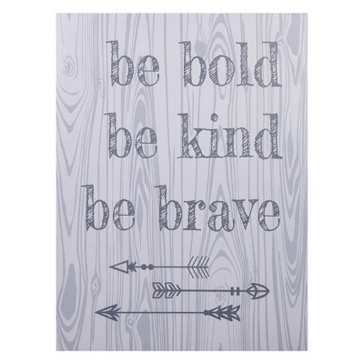 Trend Lab Canvas Wall Art - Be Bold, Be Kind, Be Brave