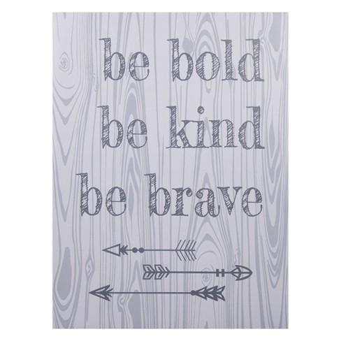 Trend Lab Canvas Wall Art - Be Bold, Be Kind, Be Brave - image 1 of 2