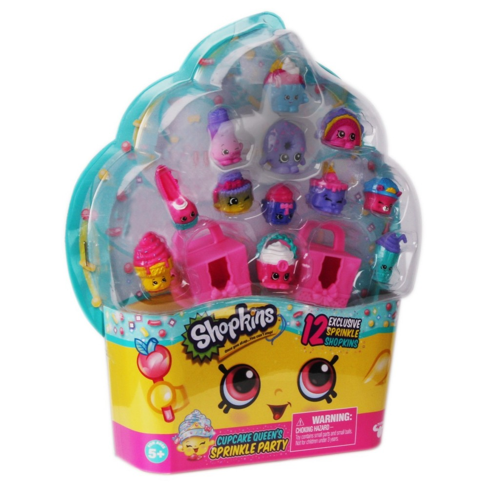 Shopkins Cupcake Queen's Sprinkle Party 12-pk