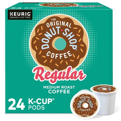 The Original Donut Shop Regular Keurig K-Cup Coffee Pods - Medium Roast - 24ct