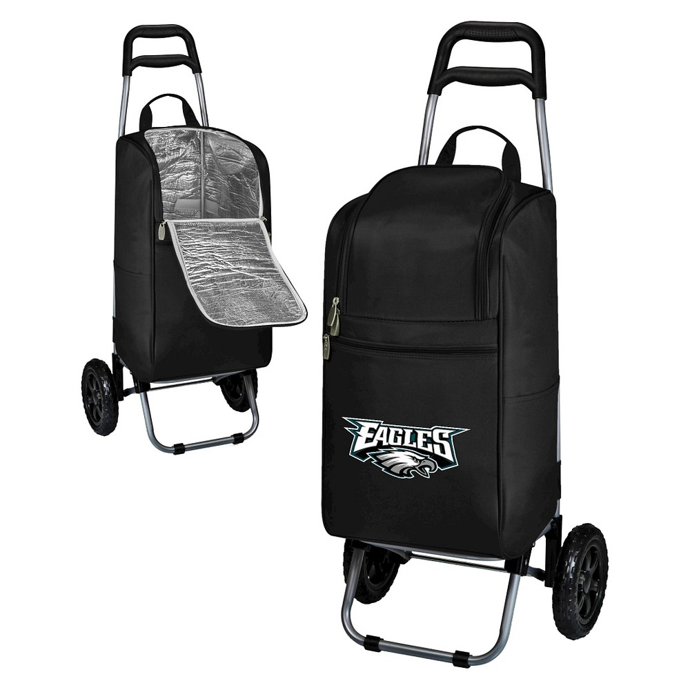 Philadelphia Eagles Cart Cooler by Picnic Time - Black