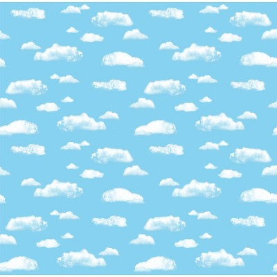 4pk 4'x12' Fadeless Bulletin Board Art Paper Clouds - Pacon