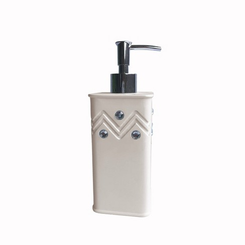 Diamond Wave Lotion Pump White Popular Bath Target