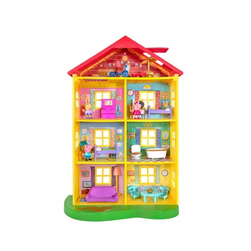Peppa Pig Fancy Family Home Playset - image 1 of 3