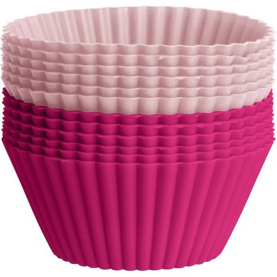 Silicone Baking Cup Sheet Pink - Trudeau