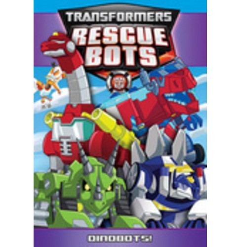 Transformers rescue bots:Dinobots (DVD) - image 1 of 1