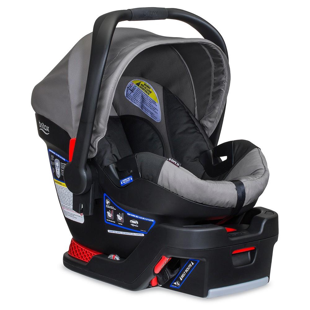 Britax B-Safe 35 Infant Car Seat - Steel (Silver)