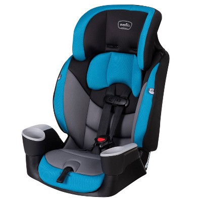 Evenflo 34912366 Maestro Convertible Forward Facing Sport Harness Toddler Child Booster Car Seat for Kids 2 to 8 Years Old, Palisade Blue
