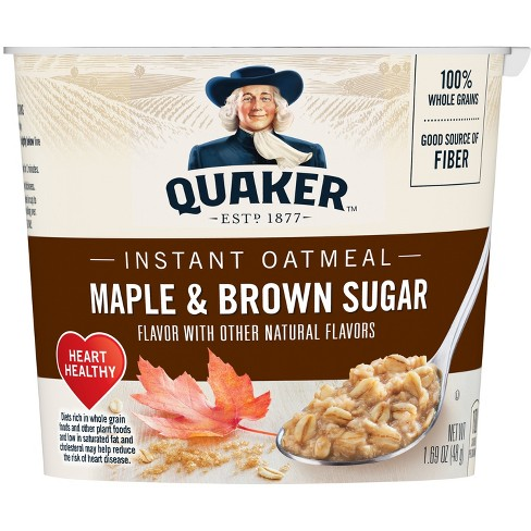 Quaker Express Maple Brown Sugar Oatmeal 1.69oz - image 1 of 4