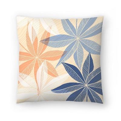 Americanflat Modern Hawaiian Print Ii by Modern Tropical Throw Pillow