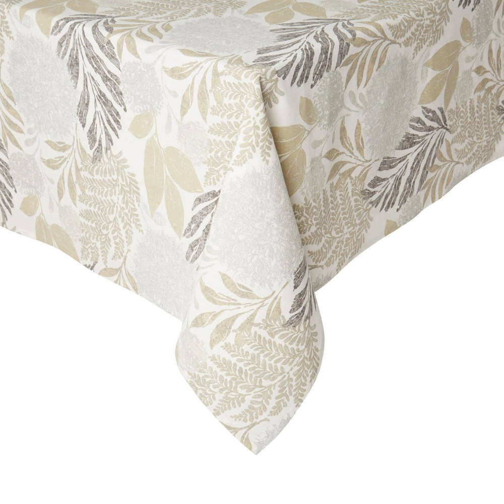 "Image of ""102"""" x 60"""" Cotton Hastings Tablecloth - Town & Country Living"""
