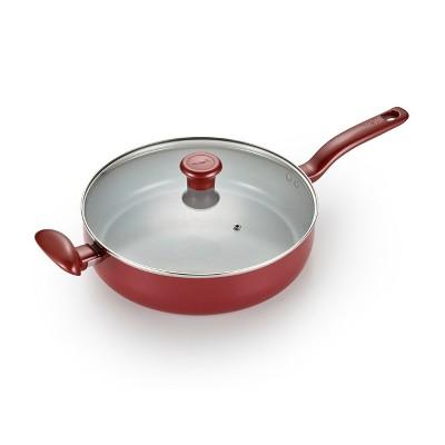 T-Fal 5 Qt Ceramic Jumbo Cooker Red