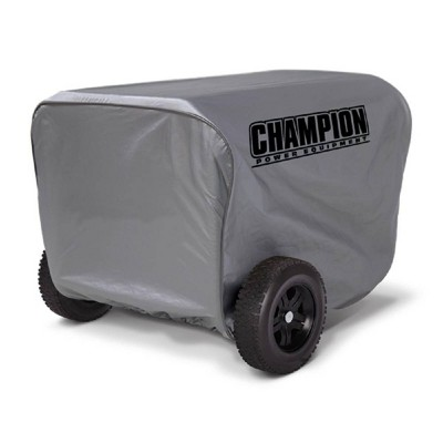 Large Generator Vinyl Cover - Gray - Champion Power