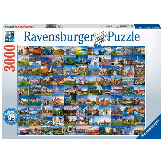 Ravensburger Beautiful Places of Europe Puzzle 2000pc, Adult Unisex image number null