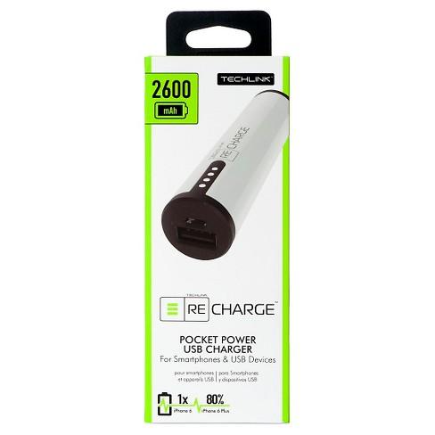 Recharge Portable Power 2600mah Target