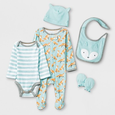 Baby 5pc Layette Sets - Cloud Island™ Newborn
