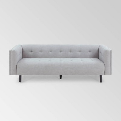 Ludwig Mid Century Modern Upholstered Tufted Sofa - Christopher Knight Home