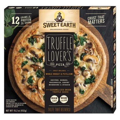 Sweet Earth Natural Truffle Lovers Frozen Pizza - 15oz