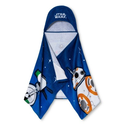 Lucas Star Wars Driod Hooded Towel