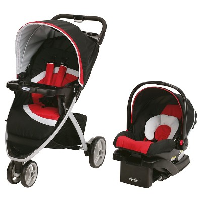 Graco® Pace Click Connect Travel System - Spice