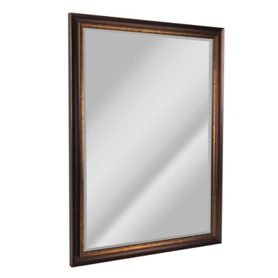 "28"" x 40"" Oil Rubbed Mirror Bronze - Head West"
