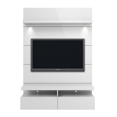 Cabrini 1.2 Floating Wall Theater Entertainment Center - Manhattan Comfort