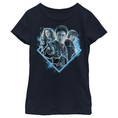 Girl's Harry Potter Best Friend Magic Trio T-Shirt
