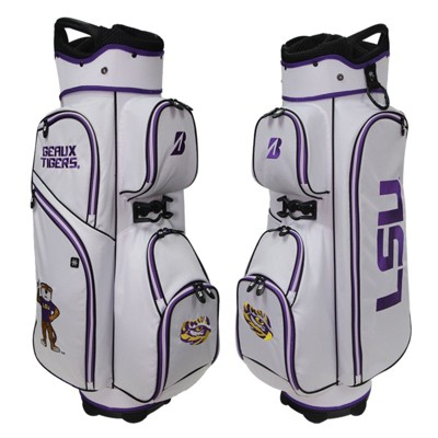 Bridgestone NCAA Golf Stand Bag-LSU