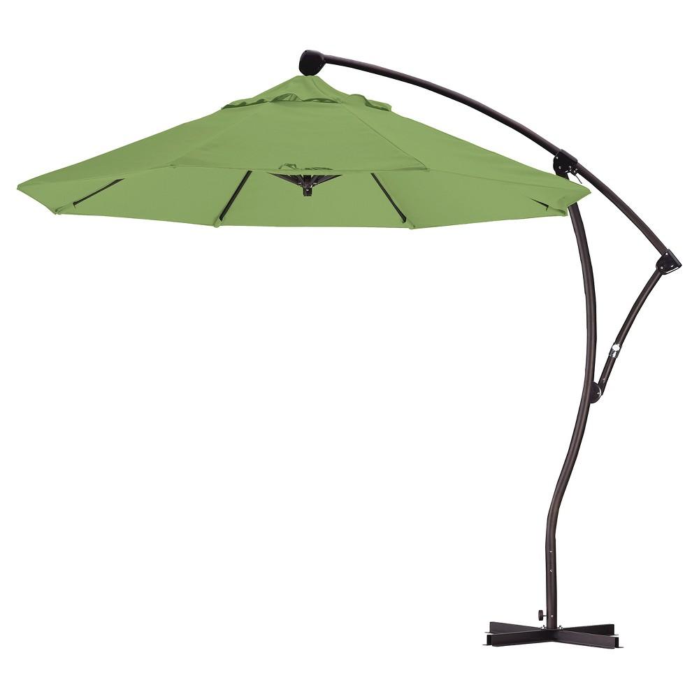 9' Aluminum Crank Lift Patio Umbrella - Gingko