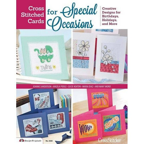 Cross Stitched Cards for Special Occasions - (Paperback) - image 1 of 1