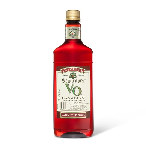 Seagrams VO Canadian Whisky - 750ml Plastic Bottle - image 1 of 1