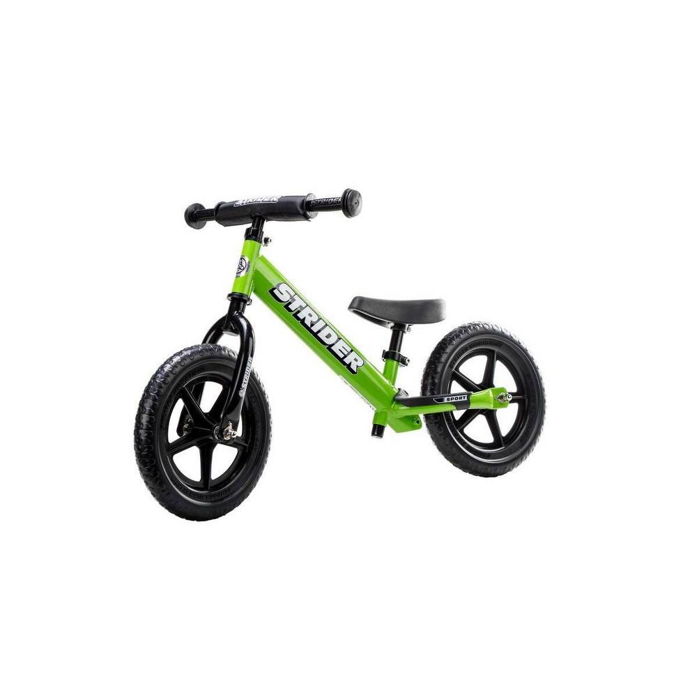 Strider Sport 12 34 Kids 39 Balance Bike Green