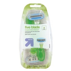Women's 5 Blade Disposable Razors - Up&Up™