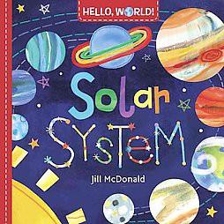 Solar System (Board Book)(Jill McDonald)