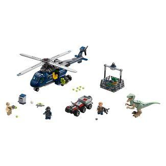 LEGO Jurassic World Blues Helicopter Pursuit 75928