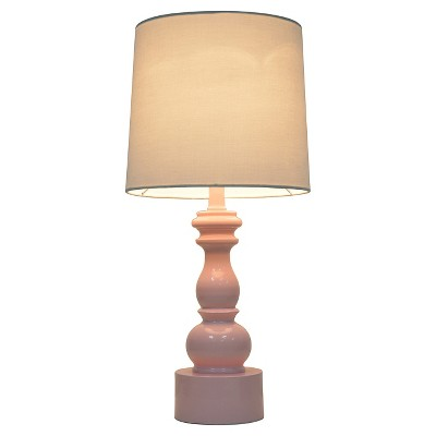 Turned Table Lamp with Touch On/Off Pink (Includes CFL bulb)- Pillowfort™