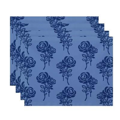 Placemat Blue e by design