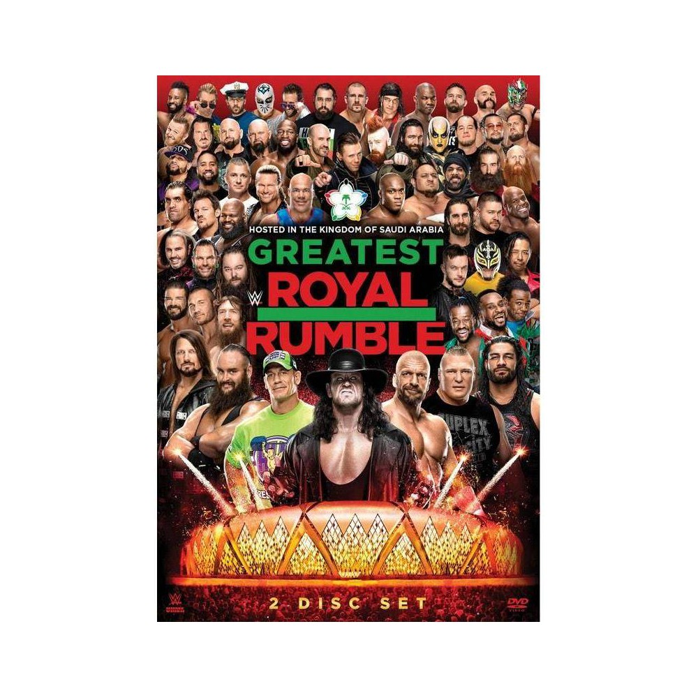 WWE: Greatest Royal Rumble 2018 (DVD)(2018) Discounts