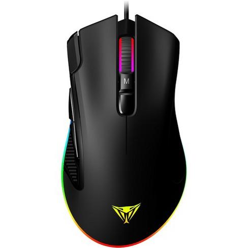 Usb Black Nixeus Revel Gaming Mouse Pixart Pmw3360 12000 Dpi Cable