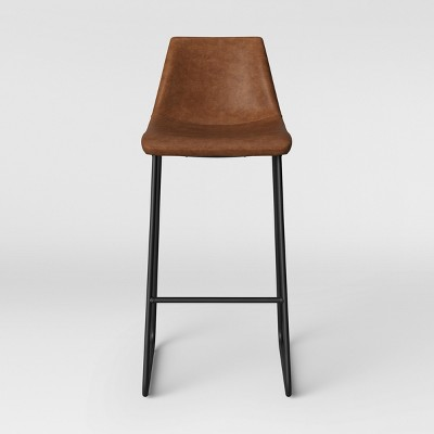 Bowden Faux Leather Barstool - Project 62™