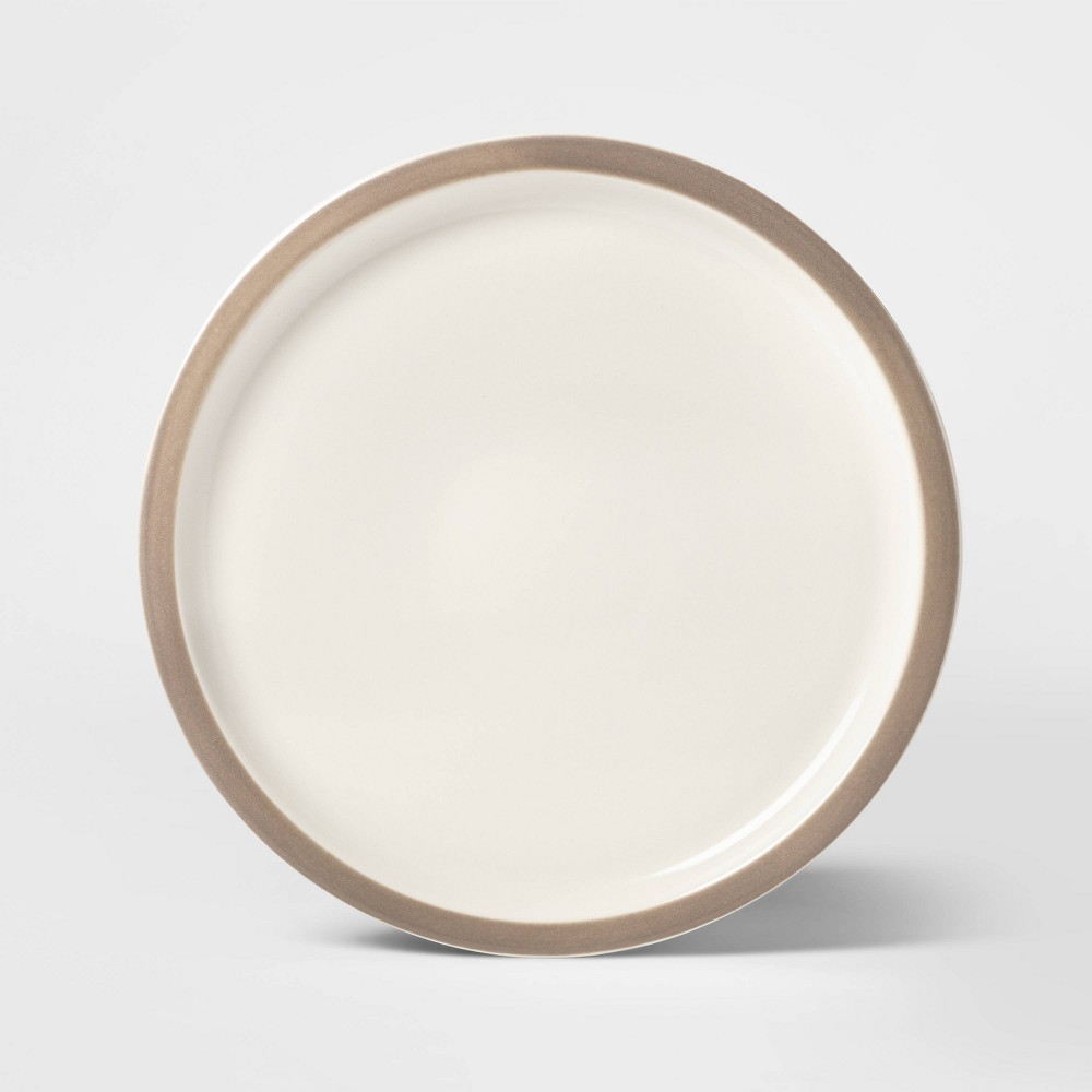 """Image of """"10.6"""""""" Porcelain Ollers Dinner Plate Brown - Project 62"""""""